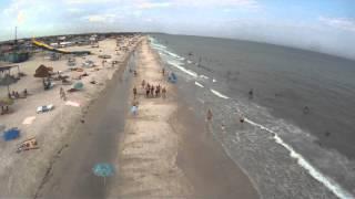 Кирилловка пляж с высоты