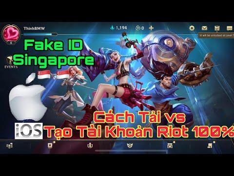Liên Minh Tốc Chiến : HƯỚNG DẪN TẢI Game và TẠO Tài Khoản Wild Rift id Singapore