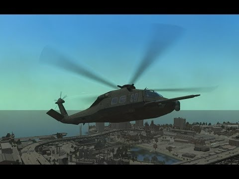 GTA IV MH-X Silent Hawk [EPM] Gameplay (HD)