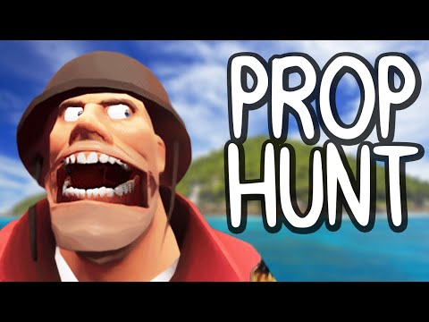 PROP HUNT ISLAND! (GMod Funny Moments)