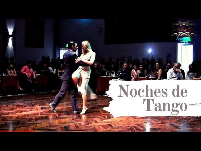 Tango show en Salón Canning 2017, Cristian Miño, Michaela Bottinger, Buenos Aires