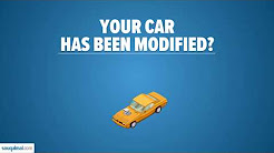 Modified Your Car? Make Sure Your Insurance Company Knows