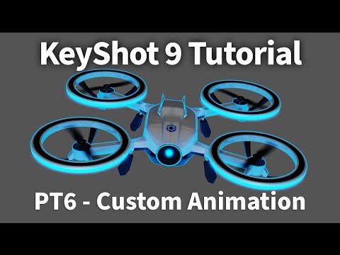 KeyShot 9 Animation Tutorial 06 - Custom Animation Curves thumbnail