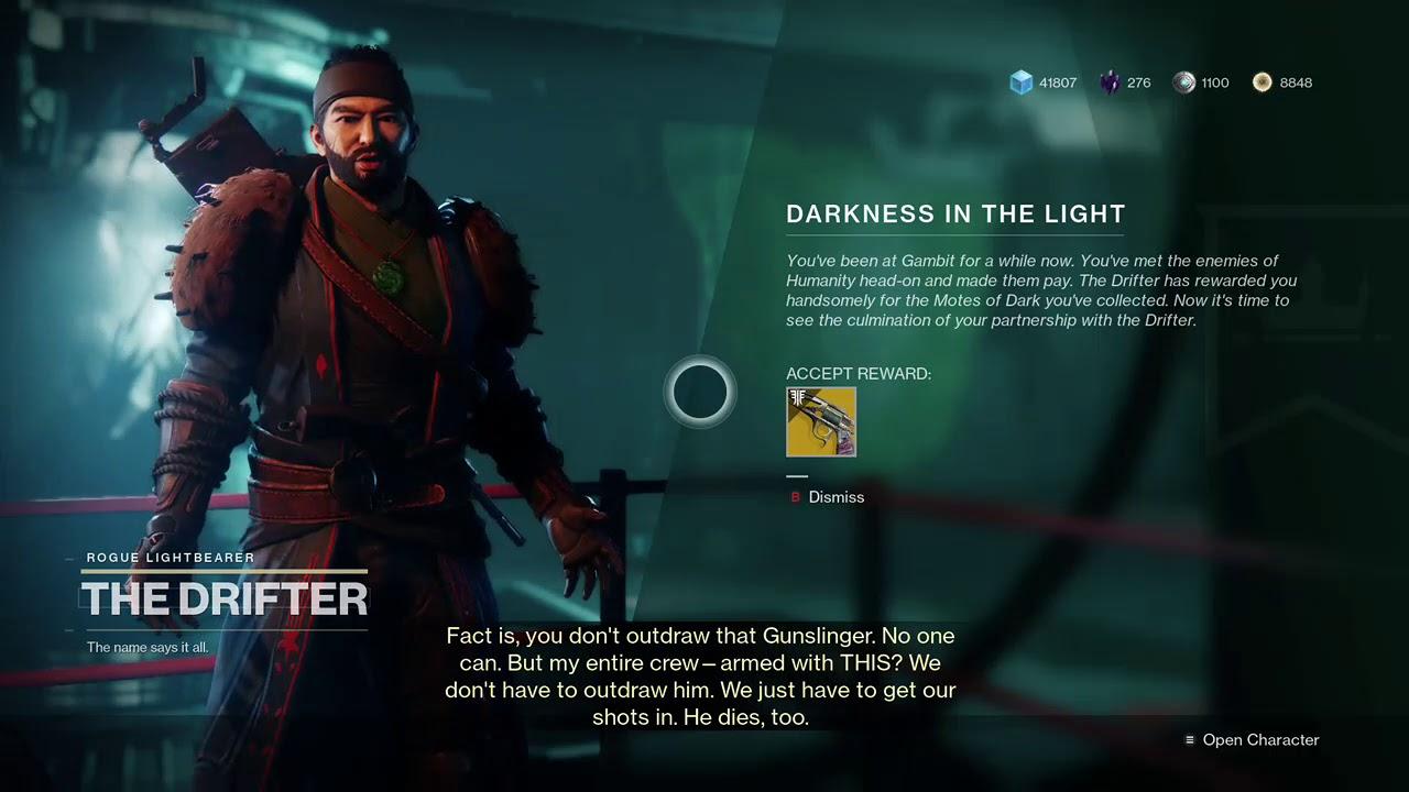 Darkness In The Light Destiny 2