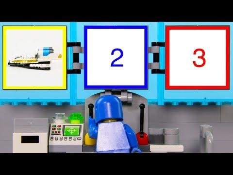 LEGO Experimental Vehicle STOP MOTION LEGO Movie Benny Build Spaceship | LEGO Vehicle | Billy Bricks