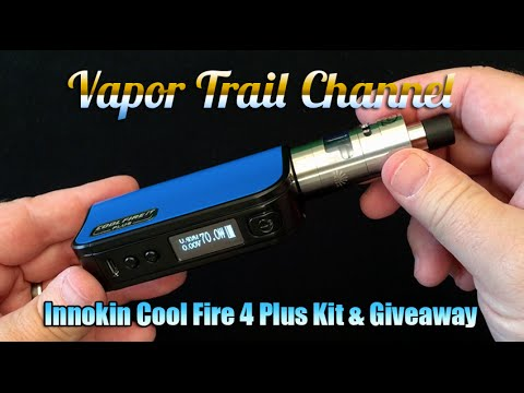 Cool Fire 4 Plus By Innokin Review (w/ Clapton Coil) & Giveaway