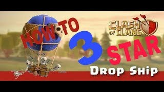 YOU THOUGHT IT IS USE LESS!! | STRATEGY TO THREE USING DROP SHIP !! | CLASH OF CLANS