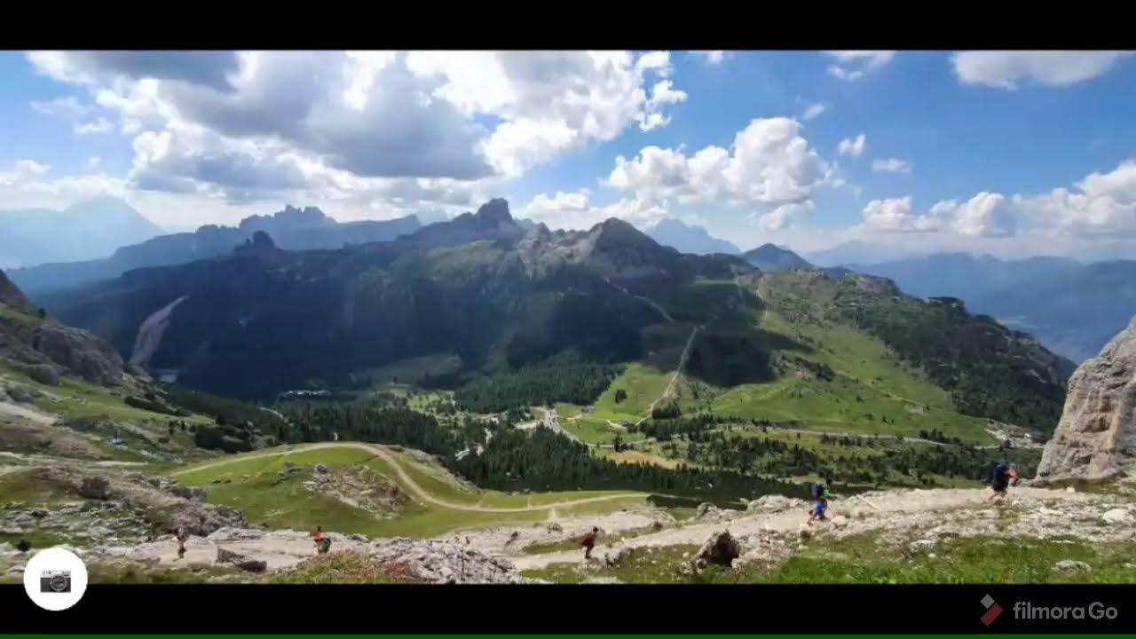 Dolomiti - Escursione passo falzarego - lagazuoi