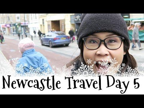 黑咪Travel   行行走走Durham + 食Christmas Eve大餐 Newcastle Travel Day 5