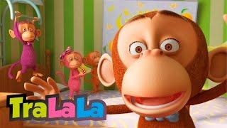 Cinci maimuțele (Five Little Monkeys în română) | TraLaLa thumbnail