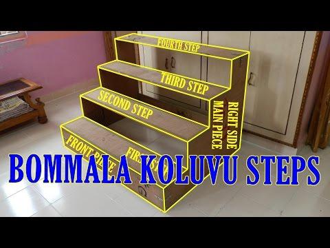 EASY MAKING BOMMALA KOLUVU (GOLU) STEPS