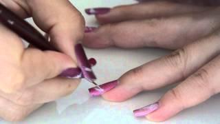 Nail art plumes Thumbnail