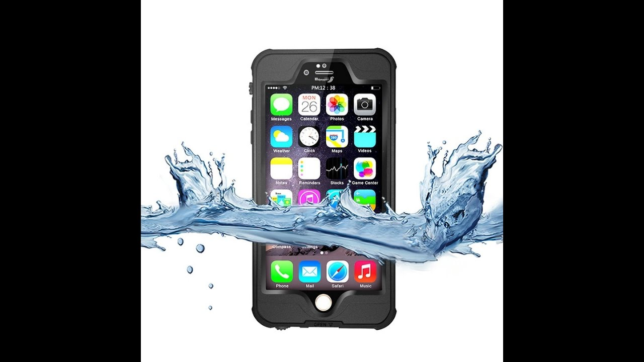 b67236645d9 Funda Case Contra Agua Sumergible Iphone 6 6s Plus Dot Pro - YouTube