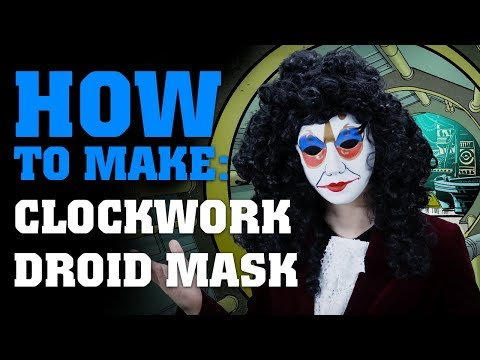 Download Youtube: How To Make A Clockwork Droid Mask - Doctor Who