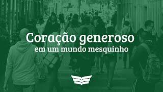 Culto da Noite | Coração generoso em um mundo mesquinho (Mc 12:41-44), Pr. Amauri Oliveira