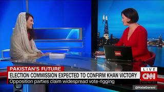 Reham Khan Interview on CNN Call Imran Khan is an Ideal puppet