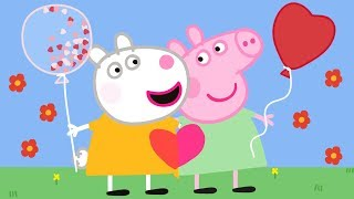 Peppa Pig Official Channel | Love Friends - Peppa Pig and Suzy Sheep Valentine's Day Special