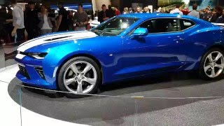 \\\ NEW CHEVROLET CAMARO 2016 ///- SALON DE L'AUTO GENEVE 2016 HD