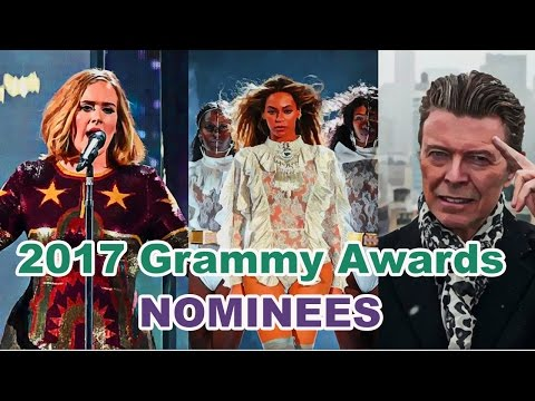 2017 Grammy Awards: Complete list of nominees Video