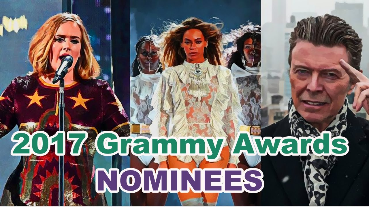 Grammy Winners: 2017 Grammy Awards: Complete List Of Nominees Video