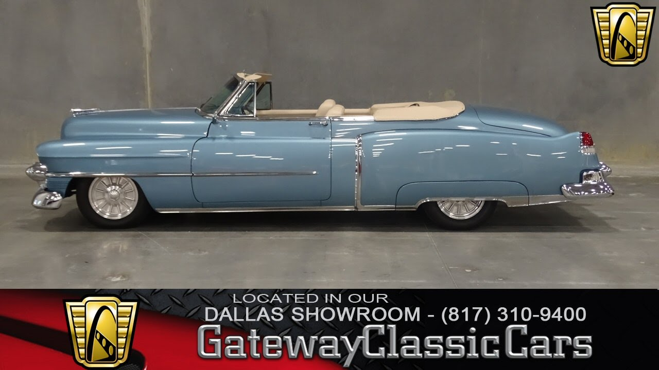 1953 Cadillac Deville Convertible Stock #87 Gateway Classic Cars of ...