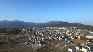 富士山 河口湖小立より空撮