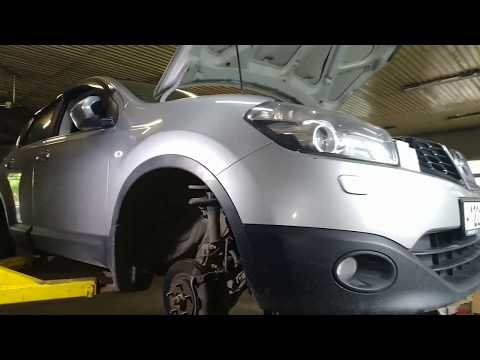 Замена обводного ремня Nissan Qashqai