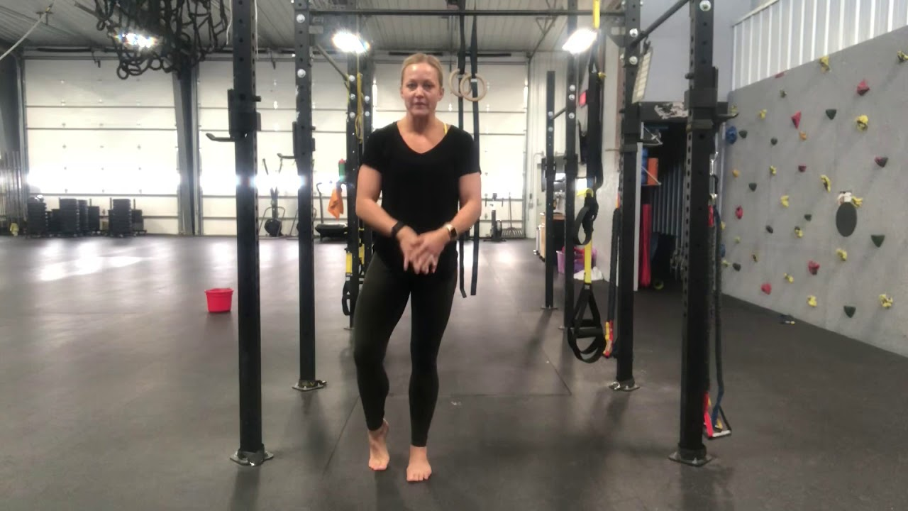 Dr. Karla's favorite lower body stability/balance drill