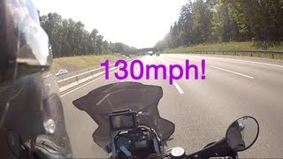 R1200GS Adventure top speed over 130MPH!