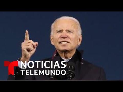 Donald Trump y Joe Biden redoblan sus campañas en Nevada y Carolina del Norte | Noticias Telemundo