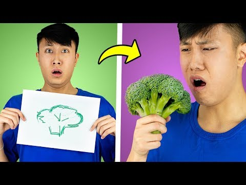 Draw It or Eat It Food Challenge!