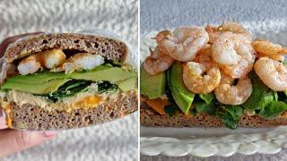 [1분완성] 아보카도 새우 샌드위치 만들기  Make …