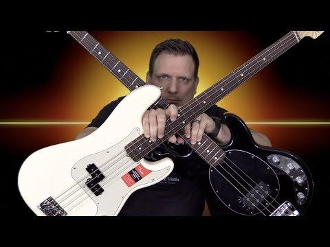 Music Man Stingray vs Fender PBass | Which Bass Rocks Harder?
