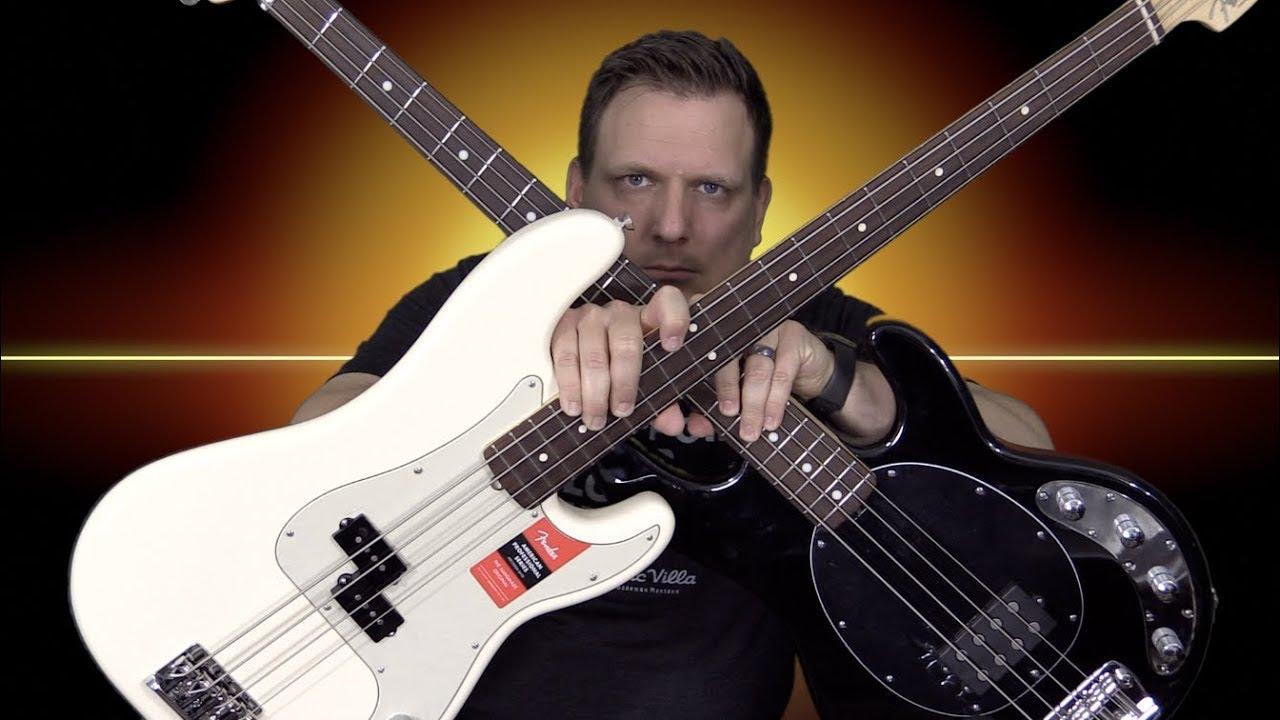 music man stingray vs fender p bass which bass rocks harder youtube. Black Bedroom Furniture Sets. Home Design Ideas
