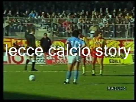 LECCE-Napoli 1-1 - 11/03/1990 - Campionato Serie A 1989/'90 - 11.a giornata di ritorno