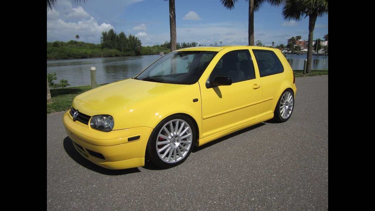 Sold 2003 Volkswagen Gti 20th Anniversary No 3551 Turbo Meticulous