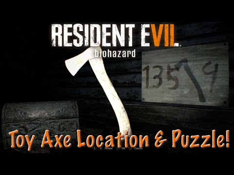 Toy Axe Puzzle/Location - Resident Evil 7 (RE7)