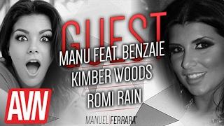 Kimber Woods et Romi Rain - AVN Expo avec Benzaie