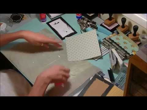 ENVELOPE MINI ALBUM TUTORIAL, WE R MEMORY KEEPERS, MME PAPER