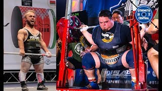 The Current IPF Sub Jr. Squat Record For Each Weight Class