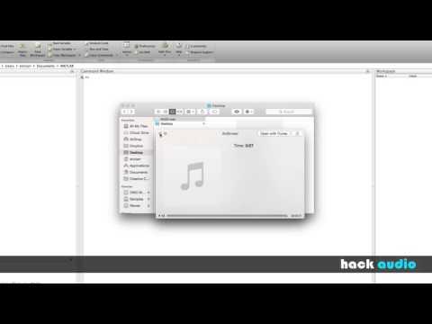 Hack Audio: Matlab Audio Read