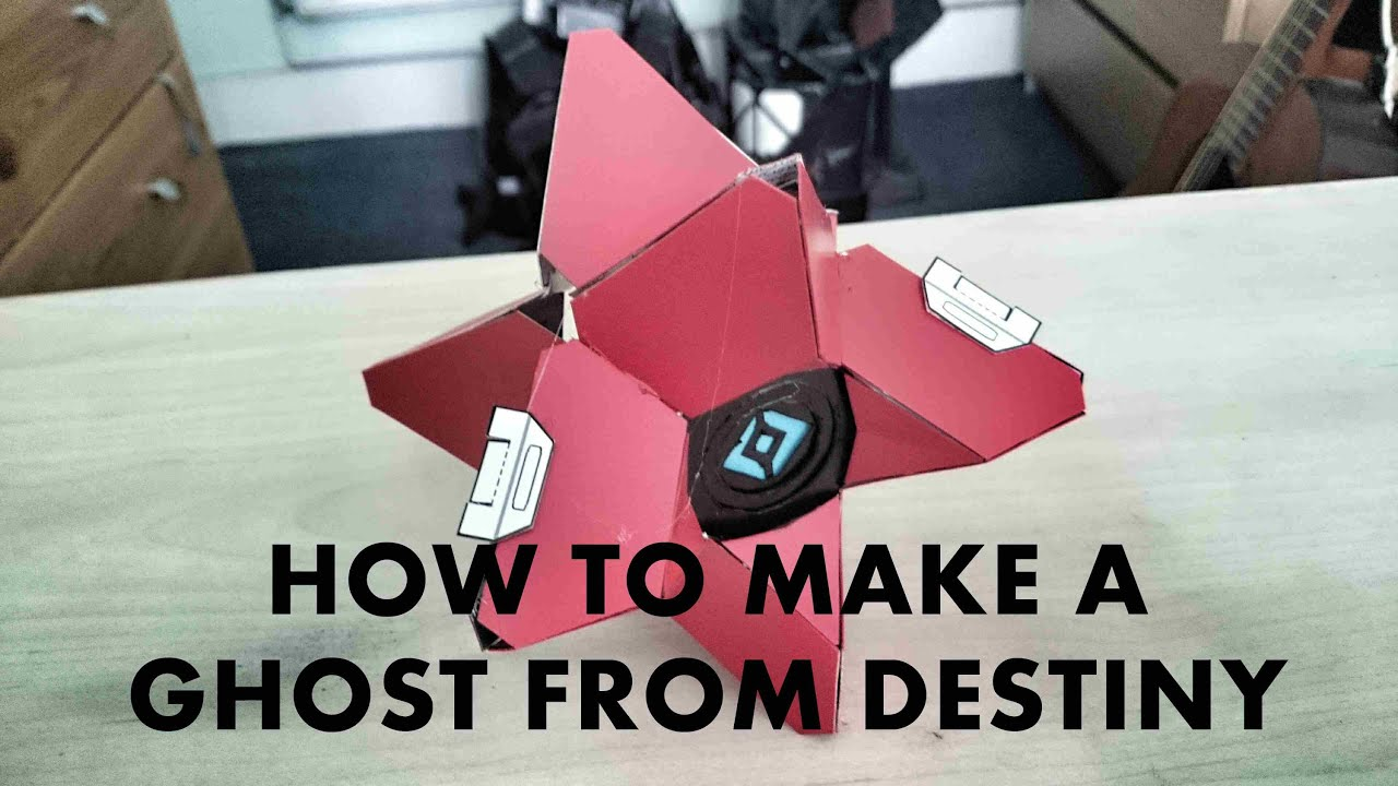 Destiny props cosplay how to make a ghost youtube malvernweather Image collections
