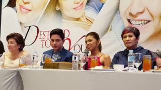 Download lagu Alden and Maine on Destined to be Yours soon!