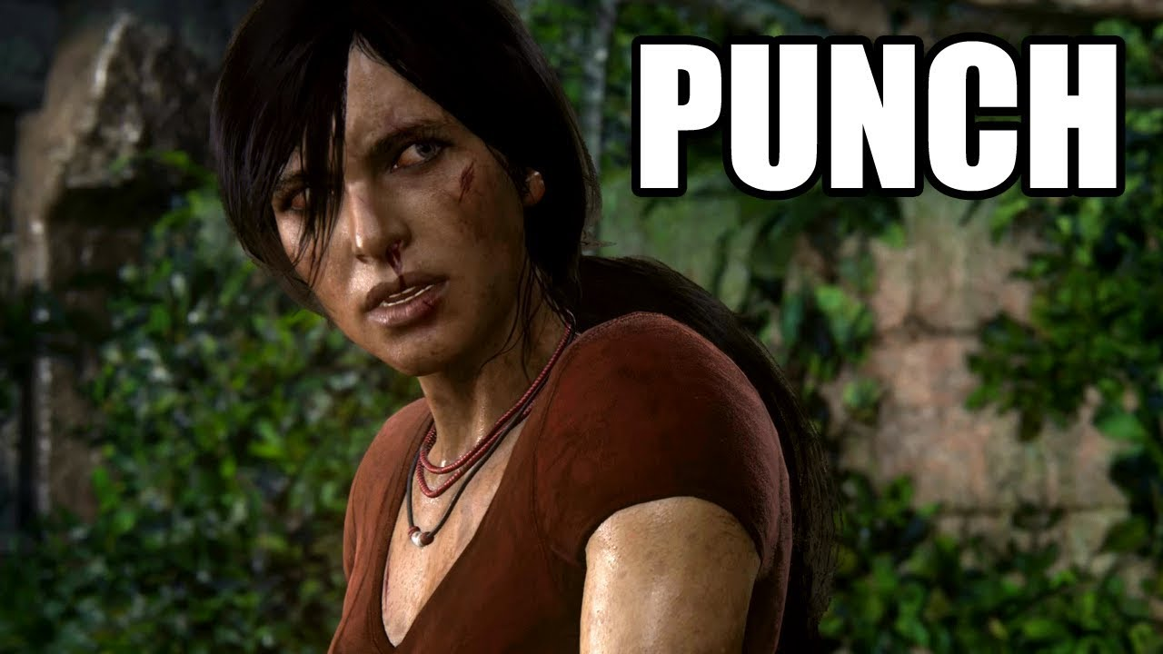 UNCHARTED The Lost Legacy - Nadine Punches Chloe