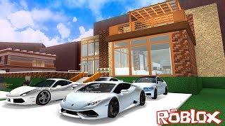 We Build a Luxury House and Fill It With Cars! Roblox Mansion Tycoon 3 with Panda