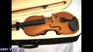 Обзор скрипки Deviser V-35 MB