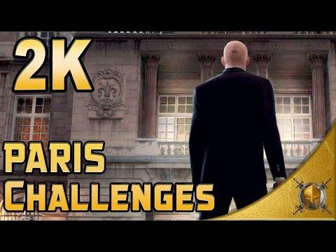 HITMAN - PARIS - The Showstopper - All Challenges - Walkthrough [1440p 60fps]