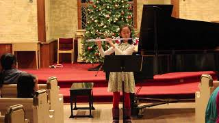 L' Armement by G.F. Telmann for Flute performed by Music & Arts School Student