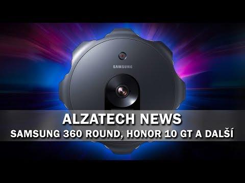 AlzaTech News#21: Samsung 360 Round, Honor 10 GT, samořídící autobusy a další!