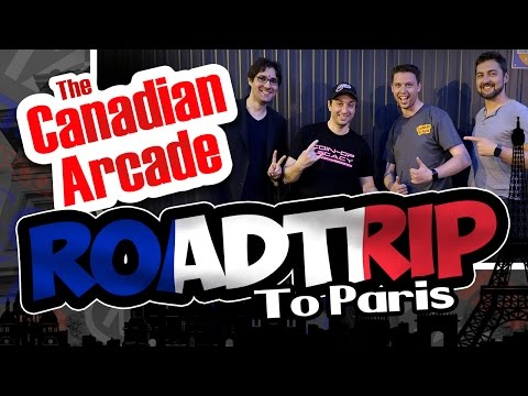 Coin-Op Legacy in FRANCE - Interview & Arcade Street Tour